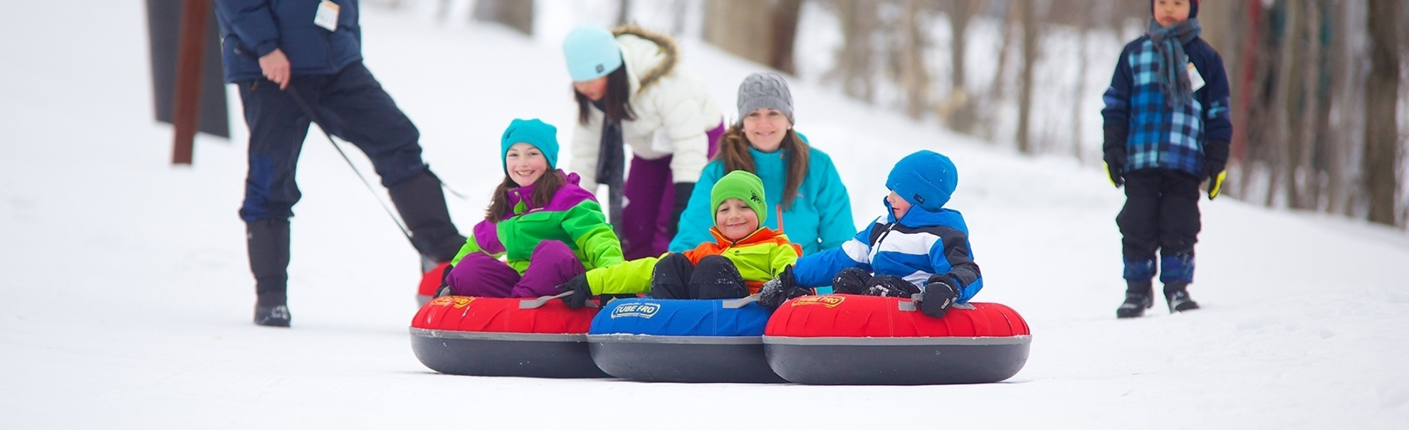 Picture of Tot Snow Tubing
